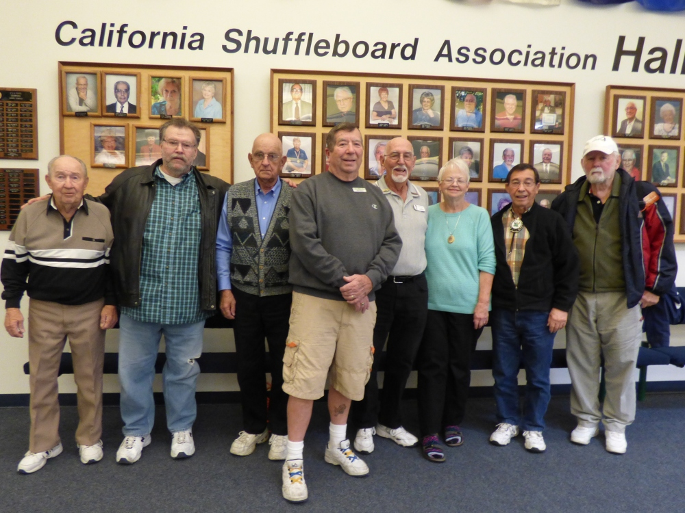 Annual Hall of Fame Tournament, A Highlight of Shuffleboarding in The Valley                               by Dean Grattidge, District 7 Reporter (3/3)
