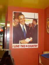 President Obama in 2009 or 8