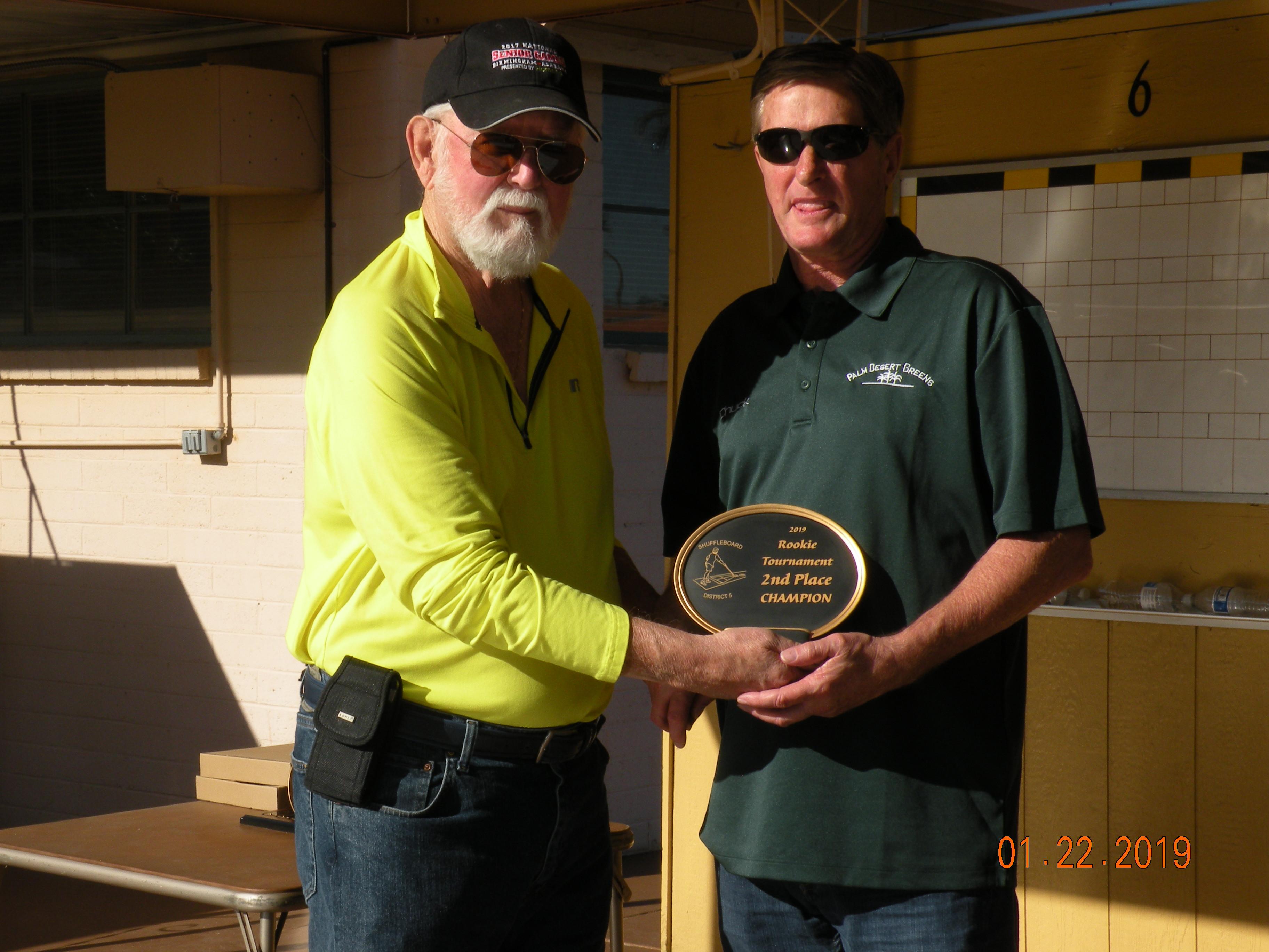 2019 Rookie Tournament - Championship -2nd - Chuck Gerock, Palm Desert Greens.JPG