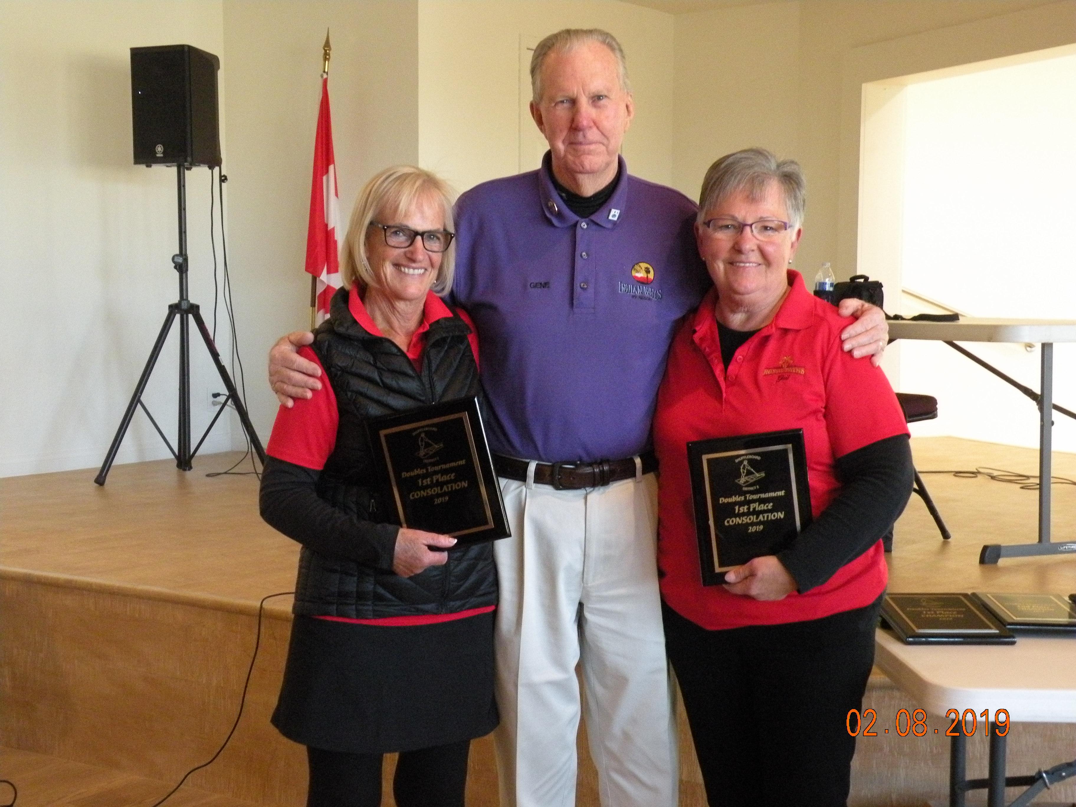 Margaret Hendriks & Gail Dodd, Champions of Consolation Division.JPG